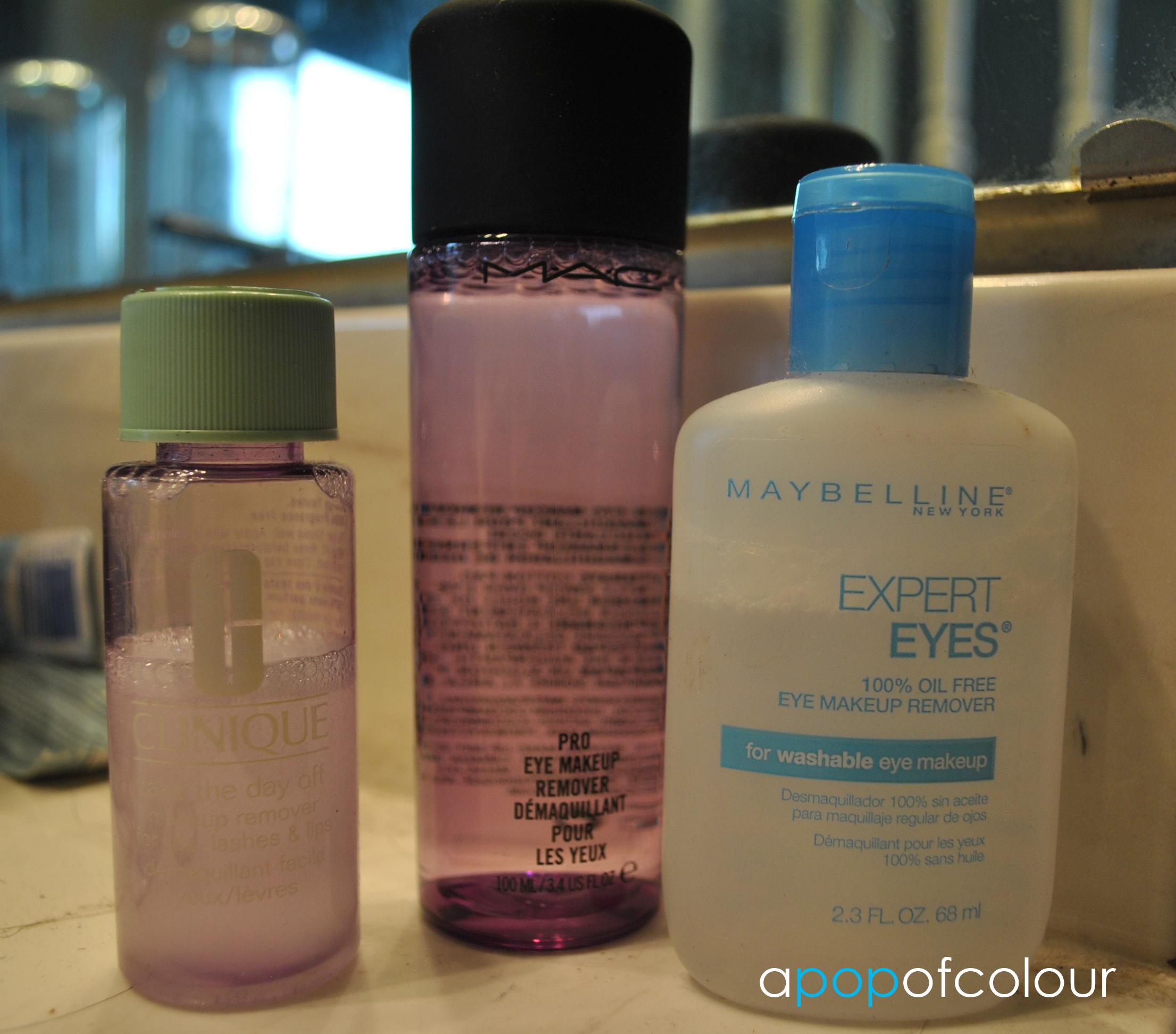 Cheap eye makeup remover